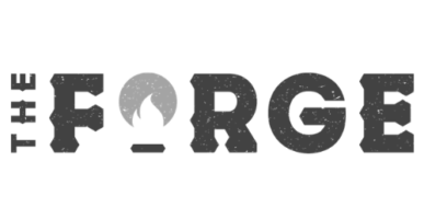Greyed Out Logo - The Forge